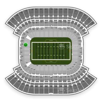 Tennessee Titans at Nissan Stadium Section 102 View