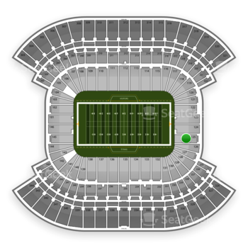 Tennessee Titans at Nissan Stadium Section 125 View