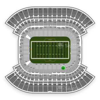 Tennessee Titans at Nissan Stadium Section 132 View