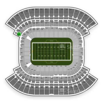 Tennessee Titans at Nissan Stadium Section 202 View