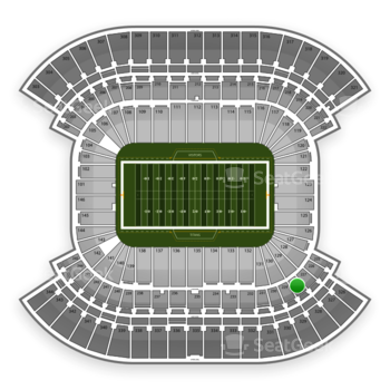 Tennessee Titans at Nissan Stadium Section 228 View