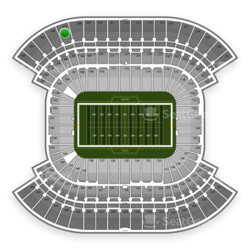 Tennessee Titans at Nissan Stadium Section 307 View
