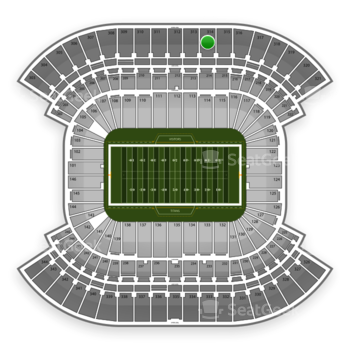 Tennessee Titans at Nissan Stadium Section 314 View