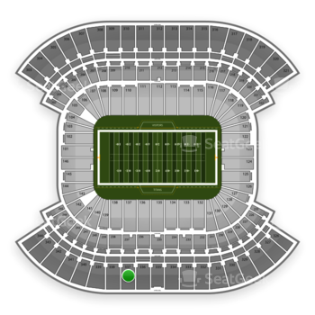 Tennessee Titans at Nissan Stadium Section 337 View
