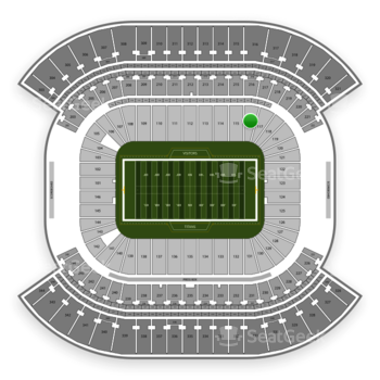 Tennessee Titans at Nissan Stadium Section 116 View
