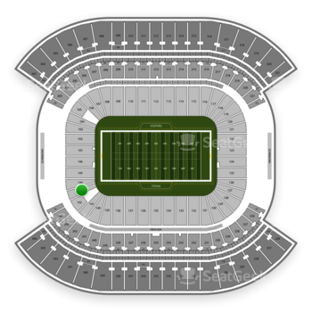 Tennessee Titans at Nissan Stadium Section 143 View