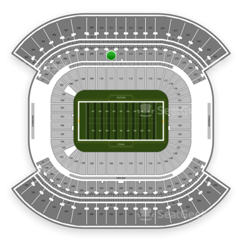 Tennessee Titans at Nissan Stadium Section 211 View
