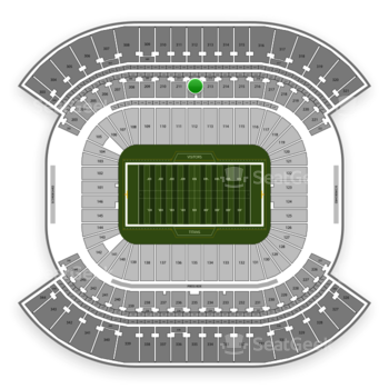 Tennessee Titans at Nissan Stadium Section 212 View