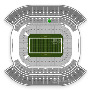 Tennessee Titans at Nissan Stadium Section 213 View
