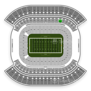 Tennessee Titans at Nissan Stadium Section 216 View