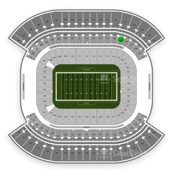 Tennessee Titans at Nissan Stadium Section 217 View