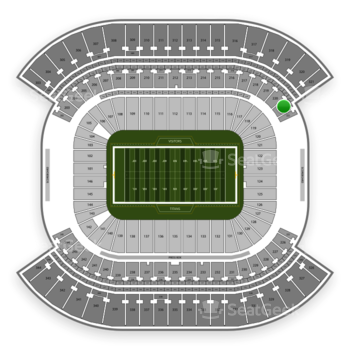 Tennessee Titans at Nissan Stadium Section 221 View