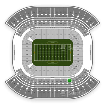 Tennessee Titans at Nissan Stadium Section 231 View