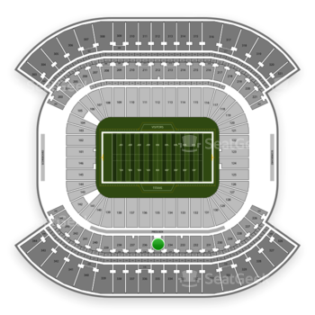 Tennessee Titans at Nissan Stadium Section 235 View