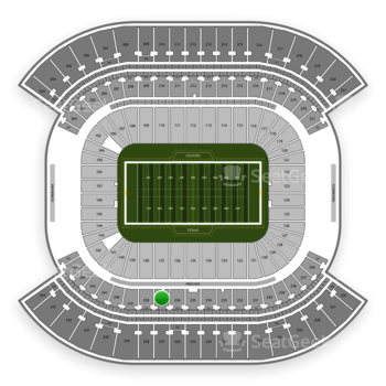 Tennessee Titans at Nissan Stadium Section 237 View