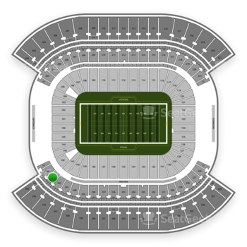 Tennessee Titans at Nissan Stadium Section 243 View