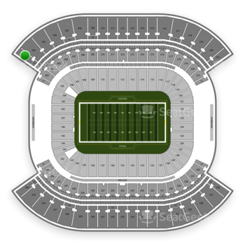 Tennessee Titans at Nissan Stadium Section 303 View