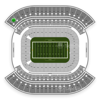 Tennessee Titans at Nissan Stadium Section 304 View