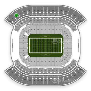 Tennessee Titans at Nissan Stadium Section 305 View