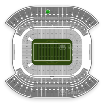 Tennessee Titans at Nissan Stadium Section 311 View