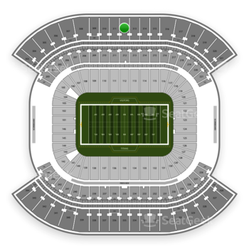 Tennessee Titans at Nissan Stadium Section 312 View