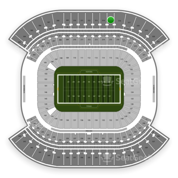 Tennessee Titans at Nissan Stadium Section 315 View