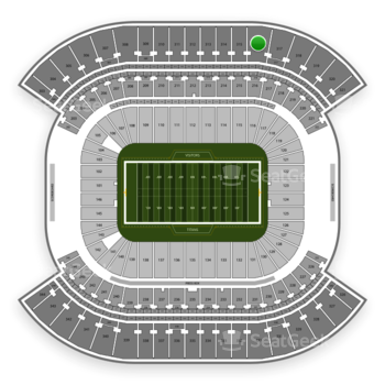 Tennessee Titans at Nissan Stadium Section 316 View