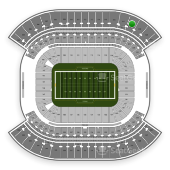 Tennessee Titans at Nissan Stadium Section 318 View