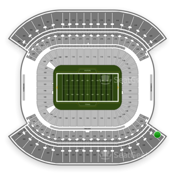 Tennessee Titans at Nissan Stadium Section 326 View