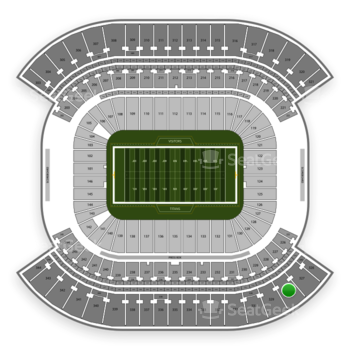 Tennessee Titans at Nissan Stadium Section 328 View