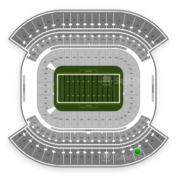 Tennessee Titans at Nissan Stadium Section 329 View