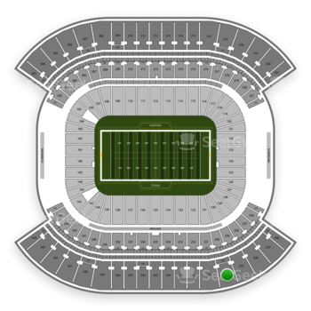 Tennessee Titans at Nissan Stadium Section 330 View
