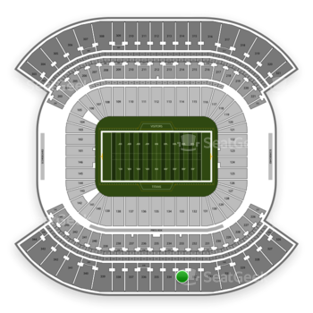 Tennessee Titans at Nissan Stadium Section 333 View