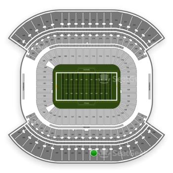 Tennessee Titans at Nissan Stadium Section 334 View