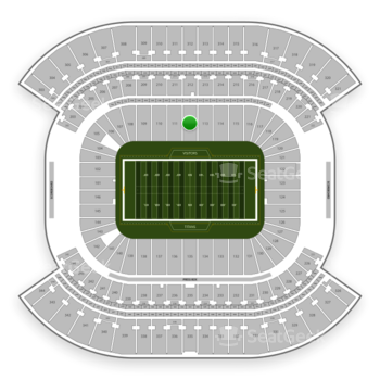 Tennessee Titans at Nissan Stadium Section 112 View