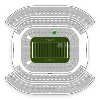 Tennessee Titans at Nissan Stadium Section 113 View