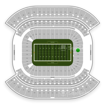 Tennessee Titans at Nissan Stadium Section 123 View