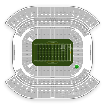 Tennessee Titans at Nissan Stadium Section 128 View