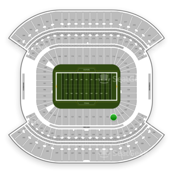 Tennessee Titans at Nissan Stadium Section 131 View
