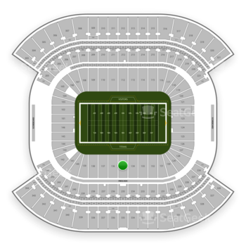 Tennessee Titans at Nissan Stadium Section 135 View