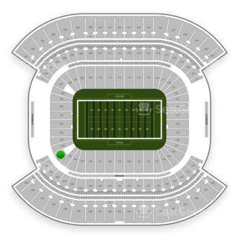 Tennessee Titans at Nissan Stadium Section 142 View