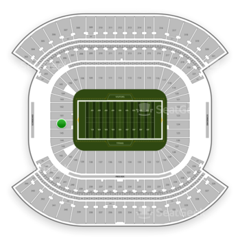 Tennessee Titans at Nissan Stadium Section 146 View