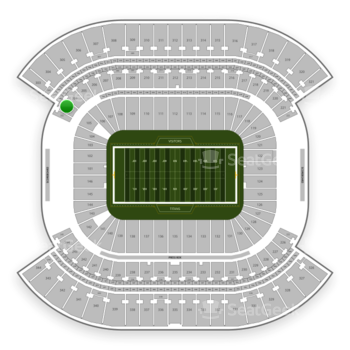 Tennessee Titans at Nissan Stadium Section 203 View