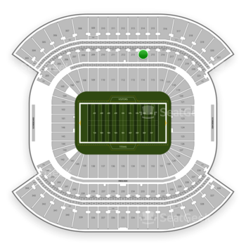 Tennessee Titans at Nissan Stadium Section 214 View