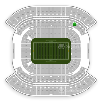 Tennessee Titans at Nissan Stadium Section 218 View
