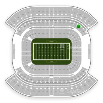 Tennessee Titans at Nissan Stadium Section 219 View