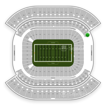 Tennessee Titans at Nissan Stadium Section 222 View