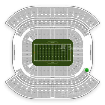 Tennessee Titans at Nissan Stadium Section 225 View
