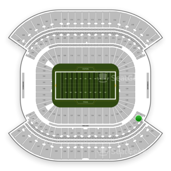 Tennessee Titans at Nissan Stadium Section 226 View