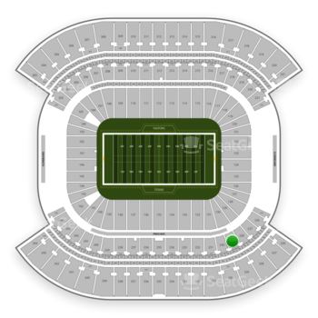 Tennessee Titans at Nissan Stadium Section 229 View